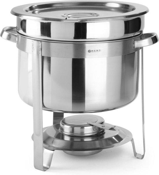 Hendi Soep Chafing Dish Rond - 8 Liter - Ø37x(H)32,5cm
