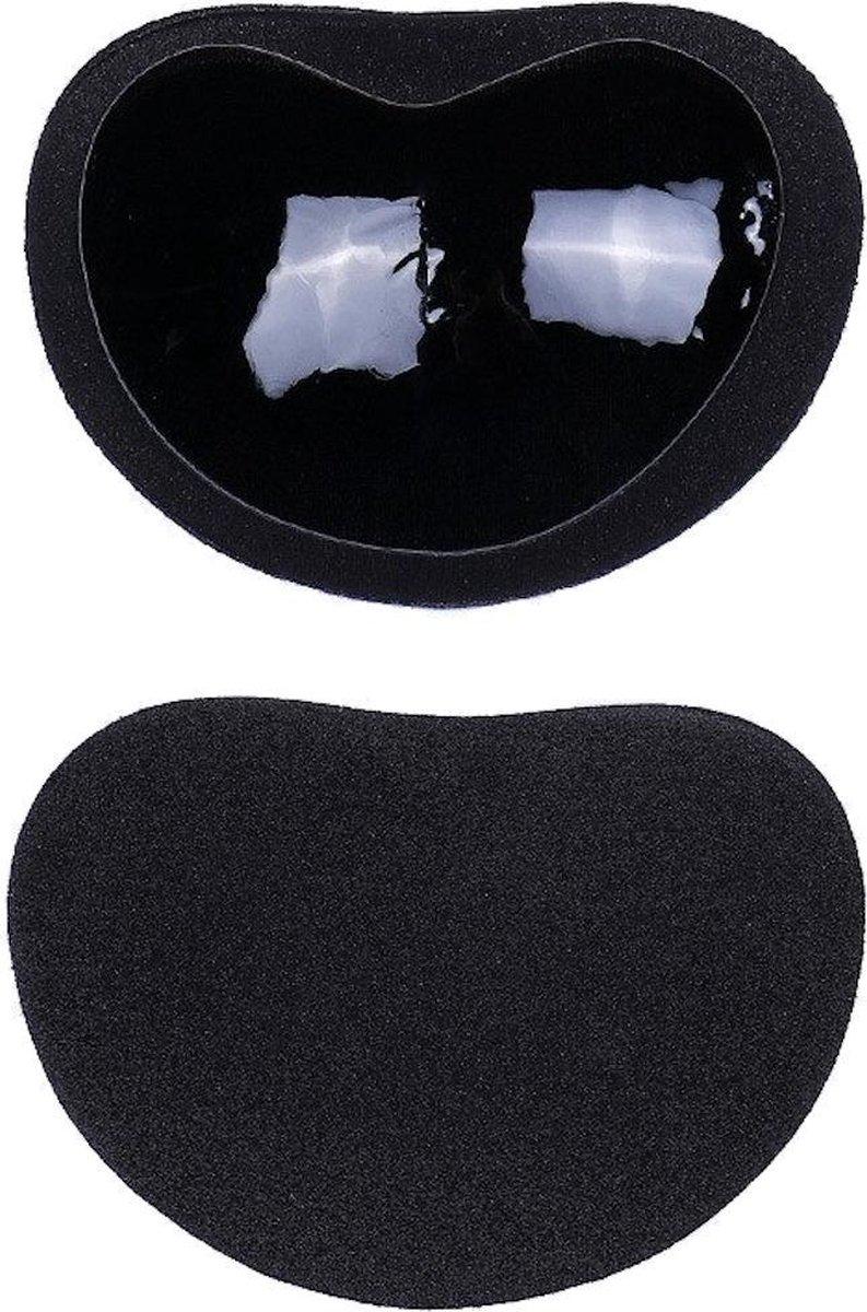 Trendfield BH Vulling - Push Up - Siliconen Beha Pads - Waterproof - Bikini & Badkleding - Zwart