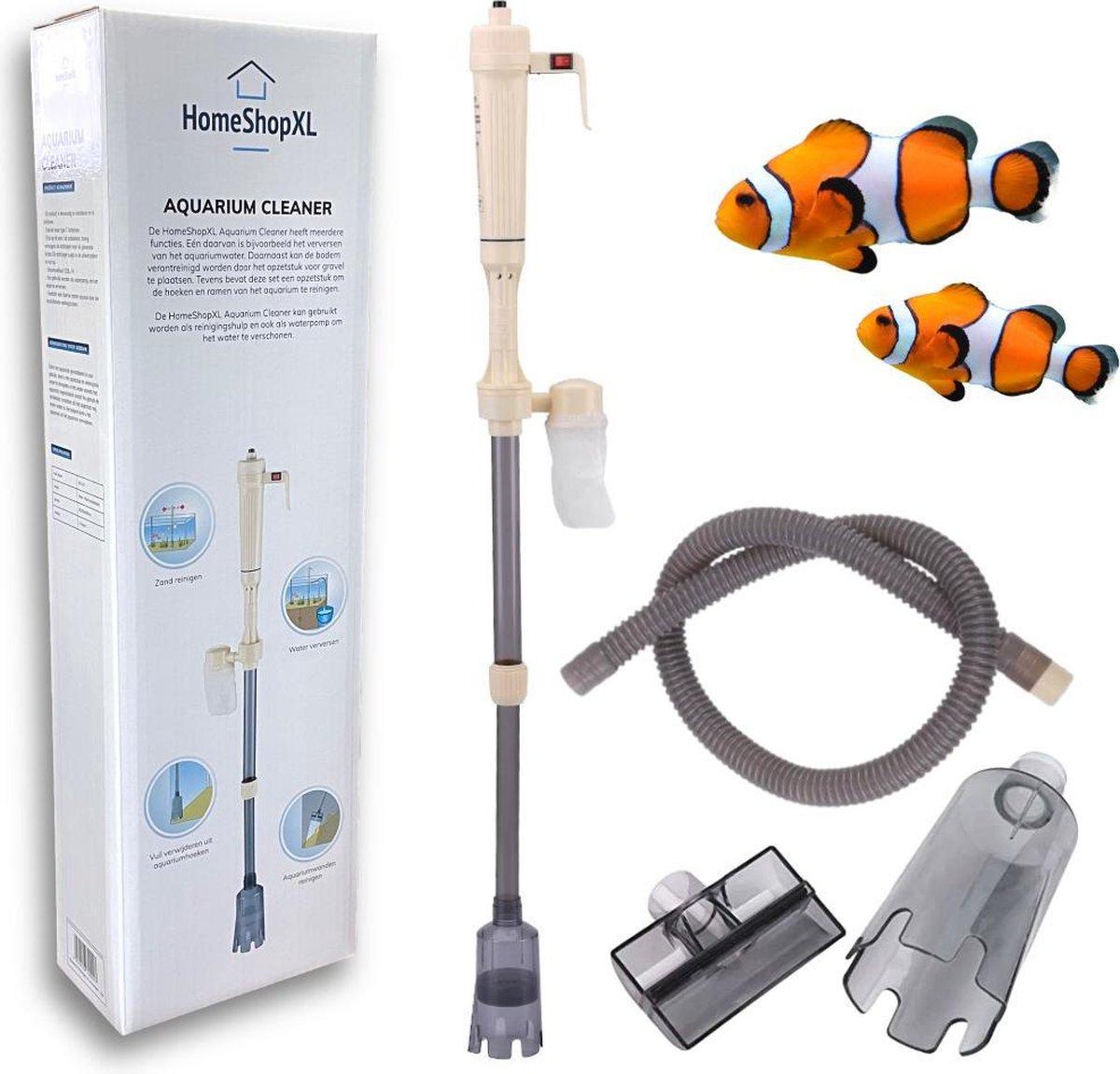 HSXL - Aquarium Stofzuiger voor Bodem - op Batterijen - Draadloos - Pomp - Elektrische Bodem reinige