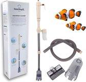HSXL - Aquarium Stofzuiger voor Bodem - op Batterijen - Draadloos - Pomp - Elektrische Bodem reiniger - Aquarium schoonmaken