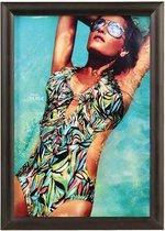 Albyco Kliklijsten, Zwart, formaat A3, 29,7 x 42 cm