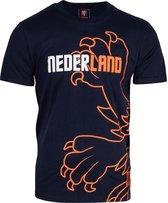 Nederlands Elftal KNVB T-shirt Blauw - Maat 164