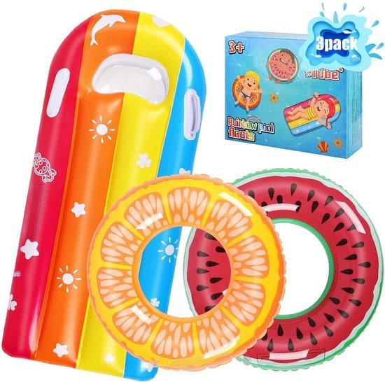 Zwemband | Kinderen | Luchtmatras | Opblaasbaar | Donut | Strand | Zomer | PVC
