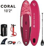 Aqua Marina SUP boardAlle leeftijden - roze/wit/zwart