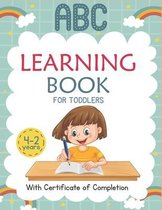 ABC Learning Books for Toddlers 2-4 Years: Trace Letters: Alphabet Handwriting Practice workbook for Preschoolers ( A to Z ) kids