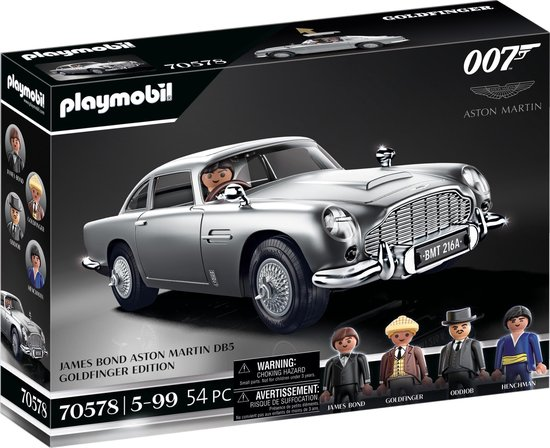 PLAYMOBIL James Bond Aston Martin DB5 – Goldfinger Edition - 70578