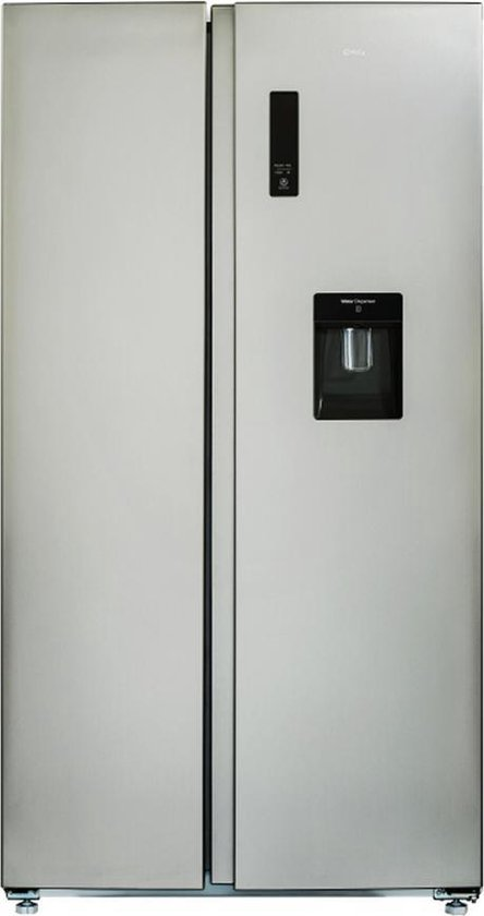 Amerikaanse koelkast: CHiQ FSS559NEI32D - Amerikaanse Koelkast - 559L (203 + 356) - no frost - RVS, van het merk chiq