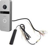 Doorsafe 6660 - Internet camera video deurbel - van robuust metaal - internet via WiFi of netwerkkabel of POE