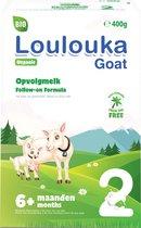 Loulouka 2 Geit – Biologische Opvolgmelk op basis van volle geitenmelk – 400g