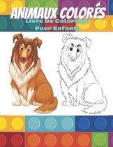 ANIMAUX COLORES - Livre De Coloriage Pour Enfants