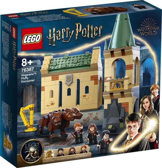 LEGO Harry Potter Zweinstein: Pluizige Ontmoeting - 76387
