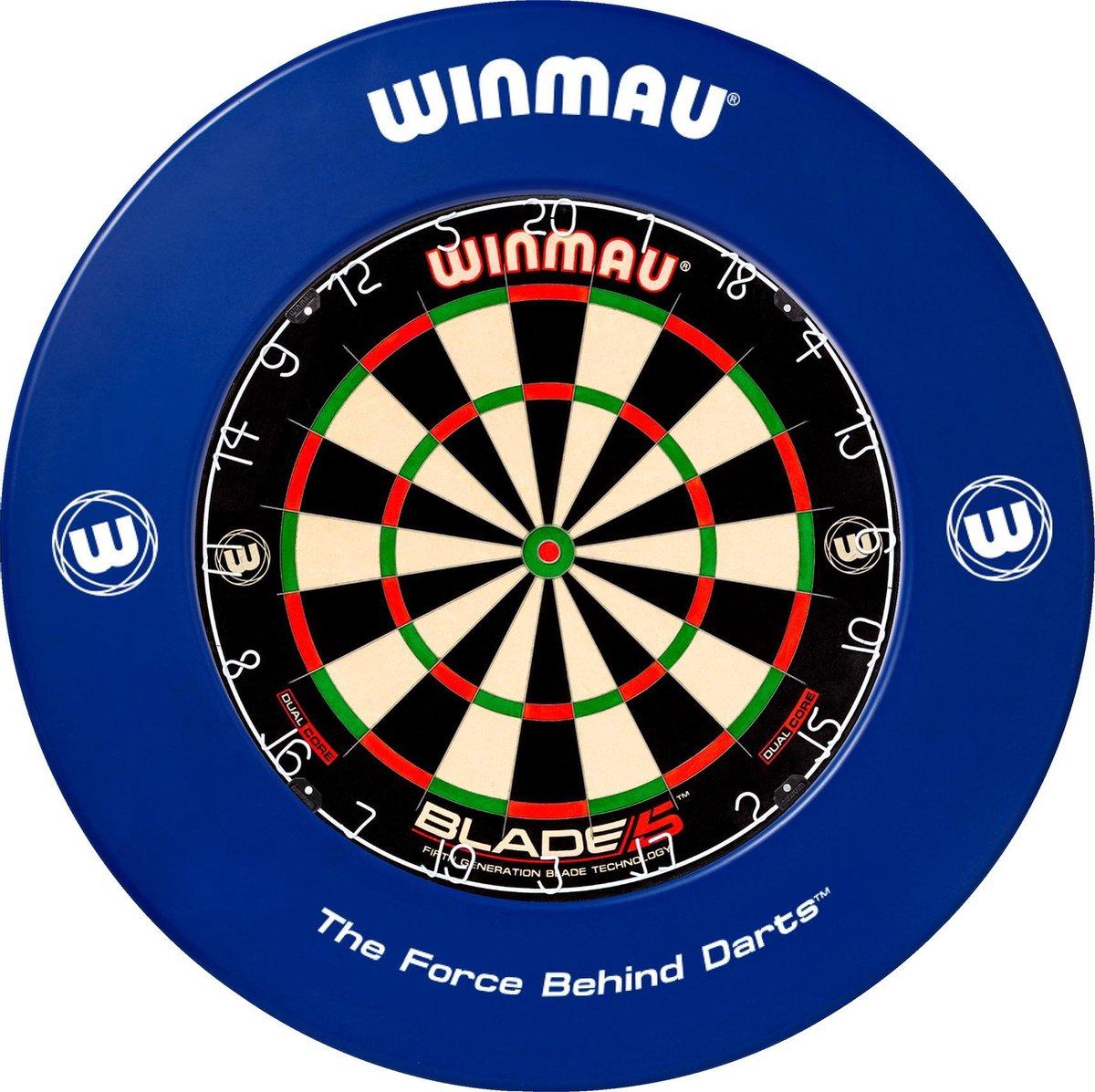Winmau Dartbord Surround Ring - Blauw
