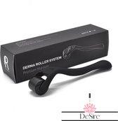 DeSire Derma Roller - 540 Needle - 0.5 MM Naald - Steriel Verpakt - Skin Roller - Huid Verzorging - Huidverzorging - Dermaroller - Baardgroei Stimuleren - HaarGroei Stimulatie - Haar en Huid - Strakke Huid - Acné - Puisten - Striae - Littekens