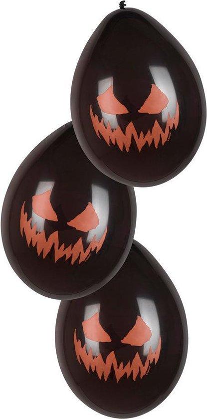 Boland - Decoratie > Ballonnen - Latex Ballonnen Enge Pompoen 6 stuks 25cm Zwart