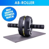 Ab Roller | Fitness Mat | Ab Wheel | Fitness | Thuis Sporten | 150kg Max | Thamstore