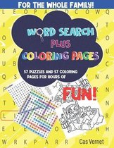 Word Search Plus Coloring Pages