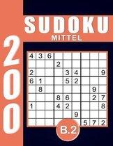 Sudoku Erwachsene Mittel Band 2