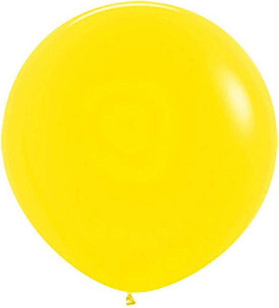 Sempertex ballonnen 61cm Fashion Yellow 020 (10 stuks)