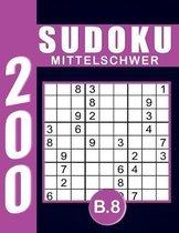 Sudoku Erwachsene Mittelschwer Band 8