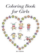 Coloring Book For Girls: Coloring Book for Kids Ages 4-12: 24 Cute, Unique Coloring Pages: Good gift for girls and grand child, babe sister and niece