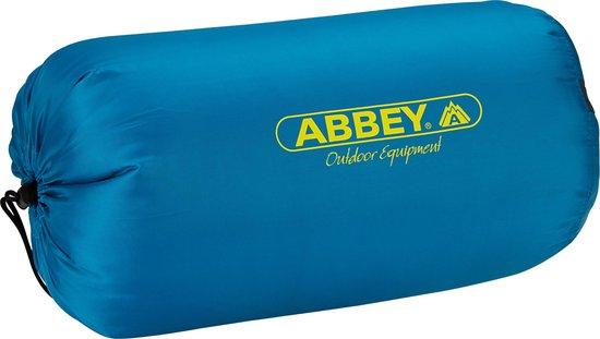 Abbey Camp Slaapzak - Zomer - 200 x 75 cm - Petrol/Lime