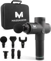 Massagerr® Massage Gun - 30 Snelheidsniveaus - 6 Opzetstukken - Massage Apparaat