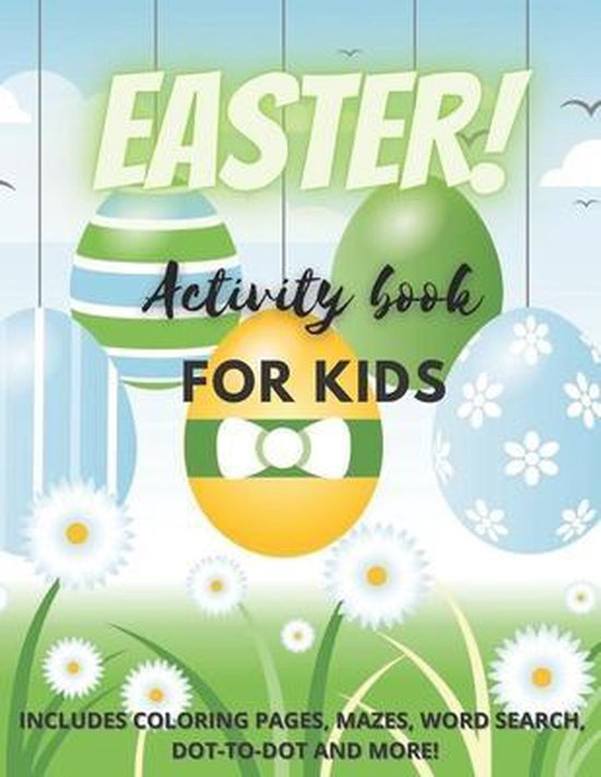 Easter! Activity Book for Kids