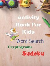 Activity Book For Kids