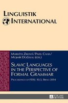 Slavic Languages in the Perspective of Formal Grammar