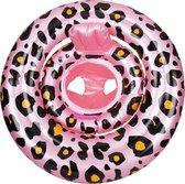 Swim Essentials - Baby Zwemzitje - Roze Panterprint - 0-1 jaar