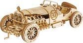 Robotime 3D puzzel modelbouw pakket V8 GRAND PRIX CAR MC401