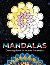 Mandalas coloring book for adults relaxation