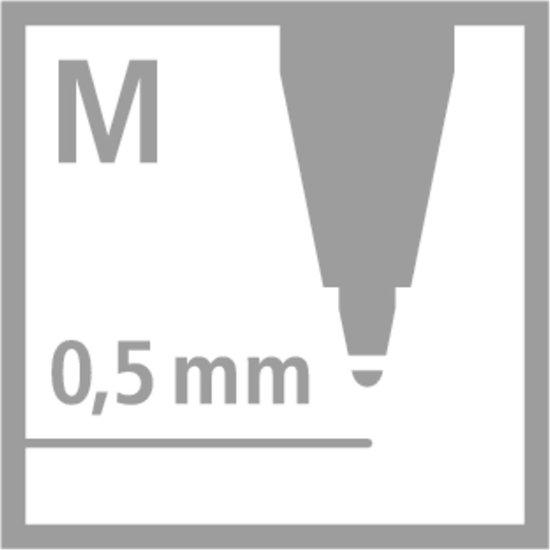 STABILO EASYoriginal - Penvulling - Medium 0,5 mm - Doos met 20 stuks