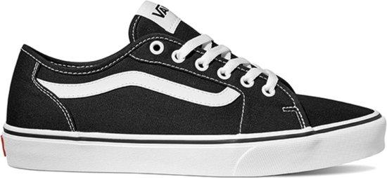 Vans Filmore Decon Canvas Heren Sneakers - Black/White - Maat 43