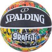 Spalding Rainbow Basketbal Heren - Zwart / Multicolor | Maat: 7