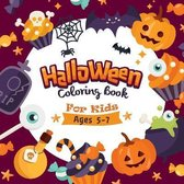 The Halloween Coloring Book For Kids: Halloween Coloring and Activity Book: Children Coloring Workbooks for Kids