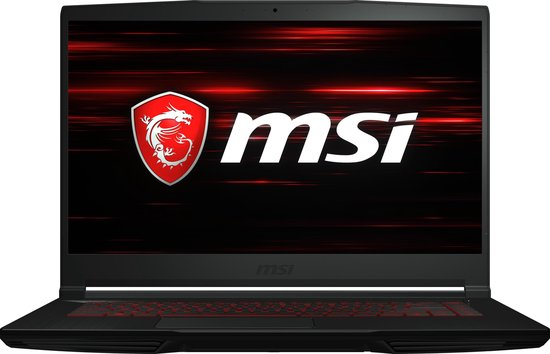 MSI GF63 10SC-029BE - Gaming Laptop - 15.6 inch - Azerty