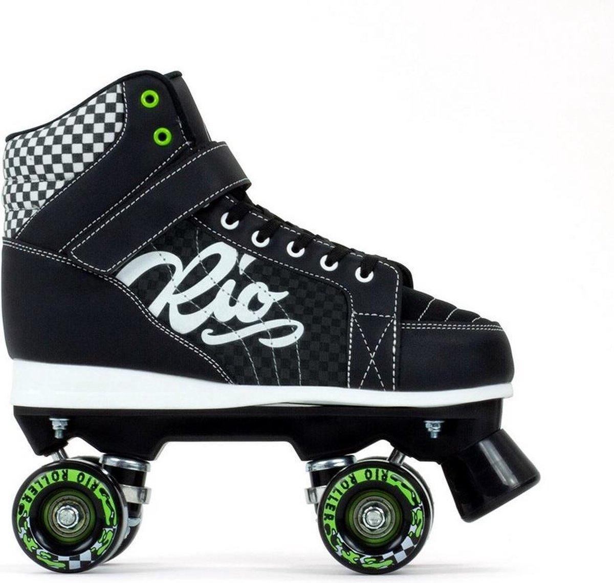 Rio Roller - Mayhem II - rolschaatsen - zwart, maat 39.5