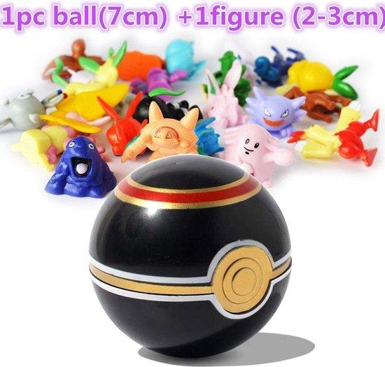 Afbeelding van het spel pokémon pokeball met random pokemon figuur in de bal - pokemon - bal - pokemonbal - pokebal - pokéball - 15