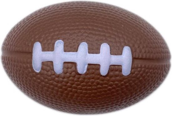Afbeelding van het spel Stressbal - American football - Verlicht stress & is enorm leuk om mee te spelen - zacht en ligt lekker in de hand