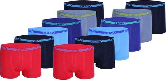 Microfiber Boxershort jongens 2003 - Jongens ondergoed - VOORDELIGE 12 PACK 158/164