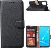 Samsung Galaxy A22 5G - Bookcase Zwart - portemonee hoesje