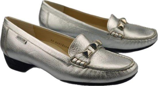 Mephisto GONDA – dames ballerina – zilver – maat 39