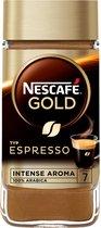 Nescafé Gold Espresso oploskoffie - 6 potten à 100 gram