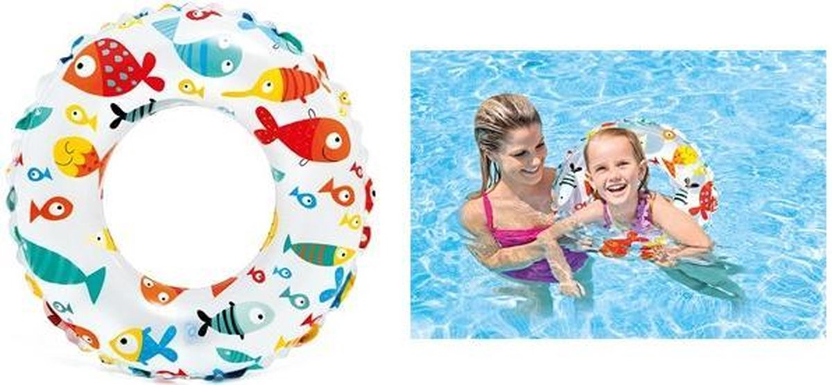 Intex zwemband voor kinderen Ø 61 / Opblaasbare zwemring.