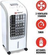 AYD Home Premium AirCooler | incl. Afstandsbediening en timer + 2x CoolingPack | Luchtkoeler | Luchtreiniger | Ventilator | Luchtbevochtiger | Voor maximale koelheid | Air fan | Mobiele Air Cooler