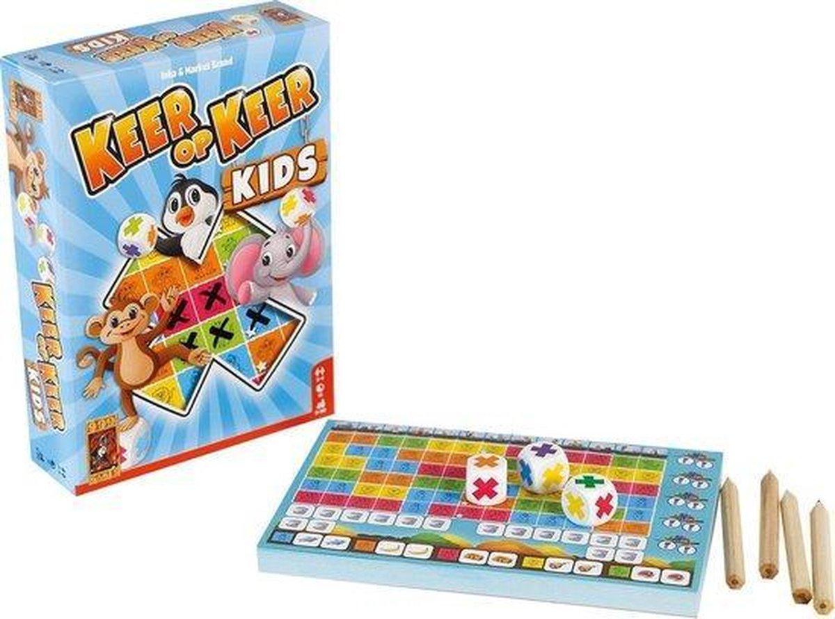 Spel - Dobbelspel - Keer op keer kids - 5+