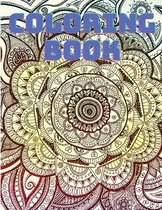 Relax and Color: Mandala Coloring Book for Adults - Stress Relieving Mandalas Designs for Adult Relaxation
