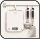 Tefal Optiss BC5000VO Digitale Keukenweegschaal - Tot 5 kg - Wit