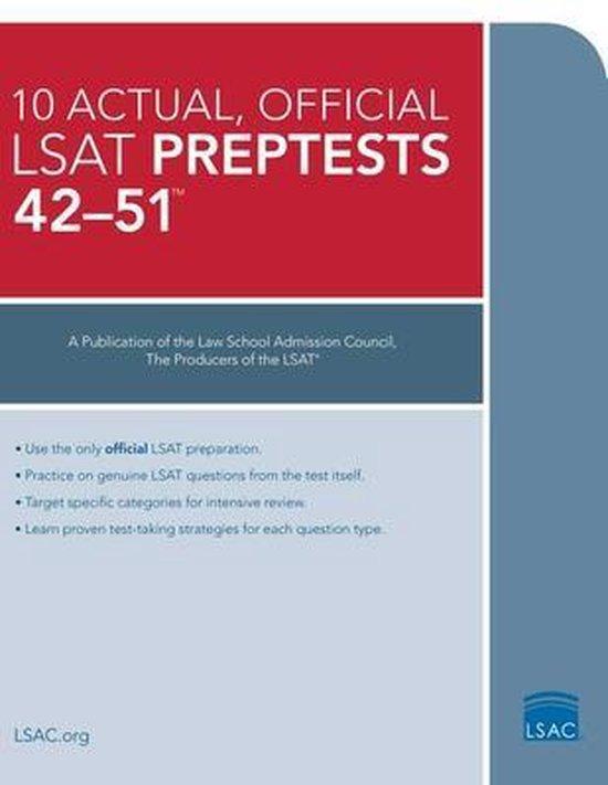 10 Actual 42-51, Official LSAT Preptests